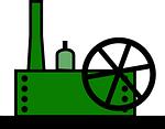 Eiswürfel Produktion