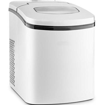 Gino Gelati GG-280W Digitaler Eiswürfelbereiter Eiswürfelmaschine Icemaker max. 15 Kg/24 h -