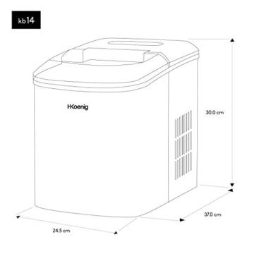 H.Koenig KB14 Eiswürfelmaschine -