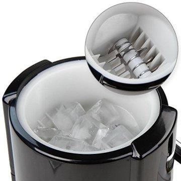 Manuelle Eiscrusher Maschine Eismaschine Eiswürfelmaschine in 2 verschiedenen Farben - 8
