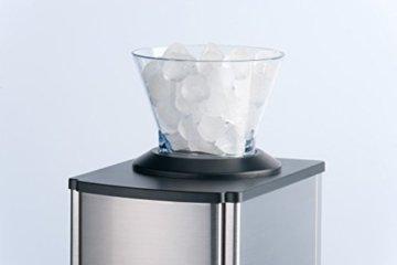 Trebs Edelstahl Eiscrusher ideal für Softdrinks, Cocktails oder kalte Nachtischzubereitung (1 kg zerkleinertes Eis pro Minute, Kapazität 3 Liter, 80 Watt) - 2