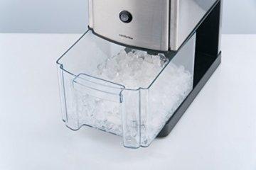 Trebs Edelstahl Eiscrusher ideal für Softdrinks, Cocktails oder kalte Nachtischzubereitung (1 kg zerkleinertes Eis pro Minute, Kapazität 3 Liter, 80 Watt) - 3