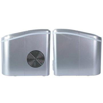 Jago Eiswürfelmaschine inkl. Eiswürfelschaufel (2 verschiedene Eiswürfelgrößen, 12 kg pro Tag), Eiswürfelbereiter mit LED Funktionsanzeige (220-240V) - 6