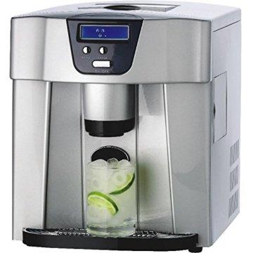 Gino Gelati GG-400 Ice Water Digitaler Eiswürfelbereiter -