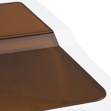 Klarstein Icemeister Eiswürfelmaschine Eiswürfelbereiter Ice Maker 12kg/24h 3 Würfelgrößen Selbstreinigungsprogramm LCD-Display LED-Beleuchtung Timer Edelstahl weiß - 6