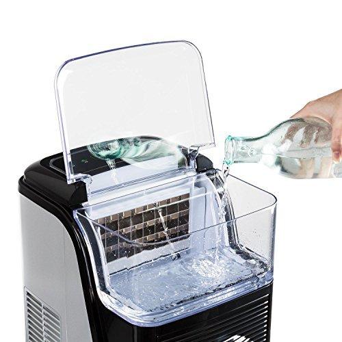 Klarstein Kristall Eiswürfelmaschine