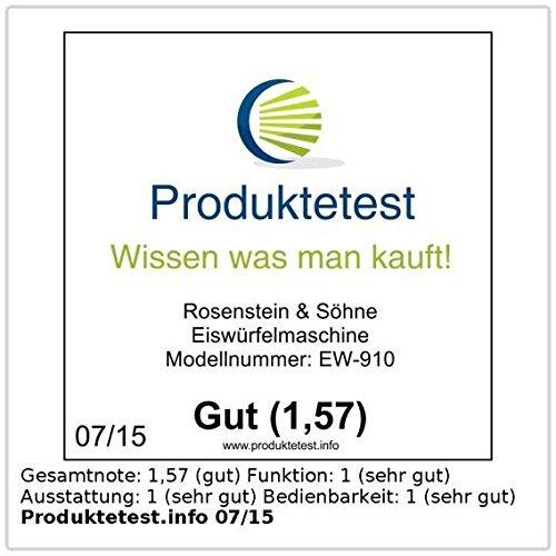 Rosenstein & Söhne Eiswürfelmaschine EW-910